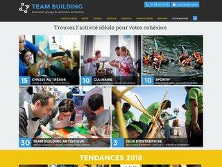 Team building : cohésion d'équipe en entreprise