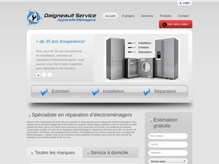 Réparation électroménagers avec Daigneault Service