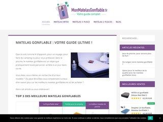 Matelas gonflable : le guide de référence, astuces et bons plans