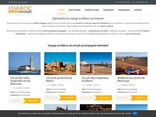 Excursion et circuit au Maroc - MarocVoyages