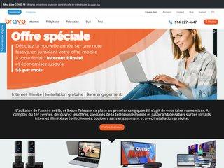 Internet à Montréal - Bravo Telecom