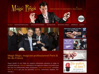 Magic Régis : Magicien pro sur Paris