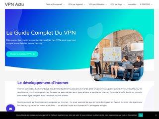 Actualité et test serveur VPN sur Vpnactu