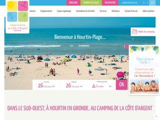 Camping La Côte d'Argent en Gironde