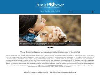 Nos cercueils pour animaux sur Amis Forever