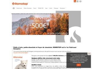 Romotop : spécialiste du poêle à bois