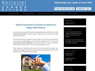 Serrurier Riviera à Cannes