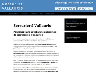 Entreprise Riviera Serrurerie à Vallauris
