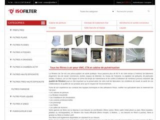 Isofilter fabrique des filtres pour le traitement de l'air