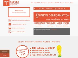 Cap'ESA, la réussite au concours ESA !