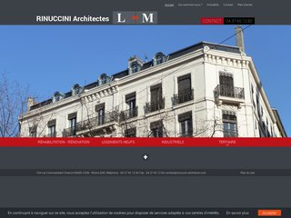 Cabinet d'architecte Rinuccini Lyon