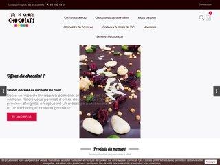 Offrir du chocolat avec la boutique Tête de Cabosse