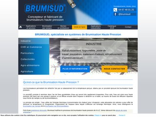 Brumisud : vente et location de brumiventilateurs