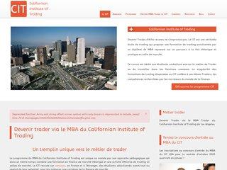 Californian Institute of Trading, une préparation d'excellence pour devenir trader