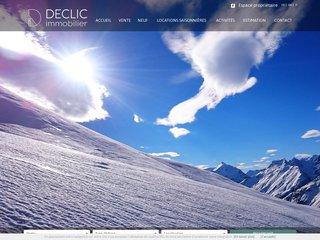 Declic Immobilier : location ou achat de chalet à Serre-Chevalier