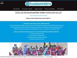 L'école de ski Buissonnière : les activités de glisse à Serre-Chevalier