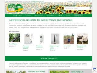 Agroressources : enregistreurs de température et instruments pour les professionnels de l'environnement