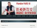 Entreprise plomberie 75018 Paris