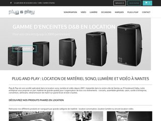 Location de sono à Nantes, 44 : plug and play