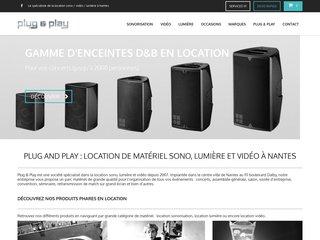 Location de sono à Nantes, 44 : plug and play