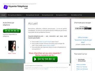 Voyante au téléphone sans CB ou en privé