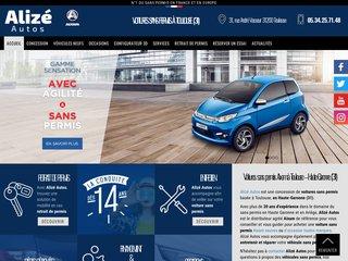 Utilitaires sans permis Mega à Toulouse : Alizé Autos