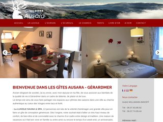 Location de gîte de luxe à Gérardmer (Vosges)