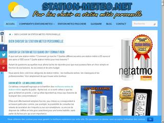 Station Meteo