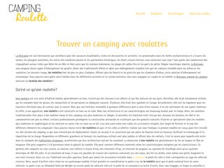 camping roulotte