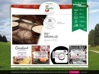 Fromagerie Badoz, productrice de fromage Franc-Comtois