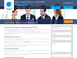 Avocat en ligne: avocat conseil au téléphone