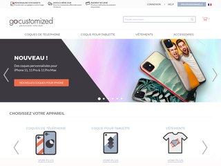 Gocustomized : coques personnalisées iPhone, iPad, Samsung, etc.