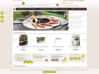 Le mobilier de jardin vu par Jardin-Concept