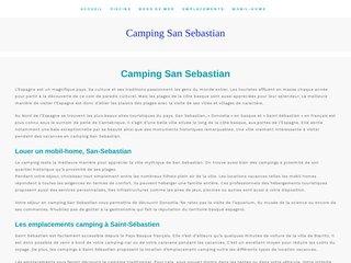camping san sebastian