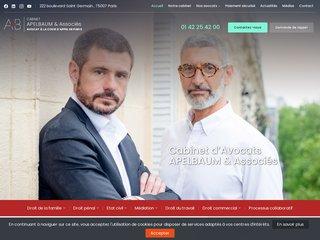 Cabinet d'avocat Apelbaume et associés à Paris