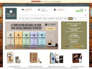Boutique en ligne de café