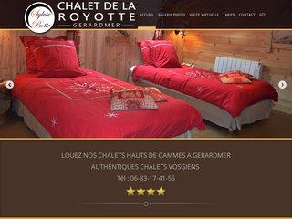 Locations de chalets de luxe à Gerardmer
