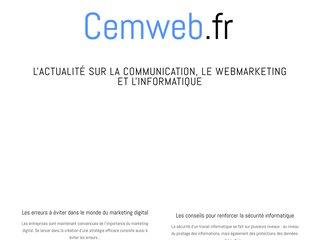 Cemweb : agence du moment en création de site internet