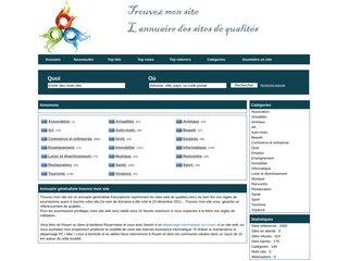 Annuaire de référencement Trouvez Mon site