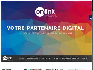 Onlink, création de site web en marque blanche