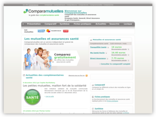 Comparamutuelles.fr : comparatif des mutuelles