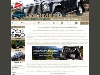 Accessoires Defender Land Révision