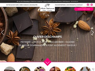 Chocolatier Pont-Audemer (27) : Olivier Deschamps