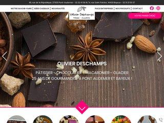 Chocolatier Pont-Audemer (27) : Olivier Deschamps