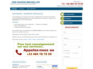 Gorka : vide maison et transport à Bruxelles