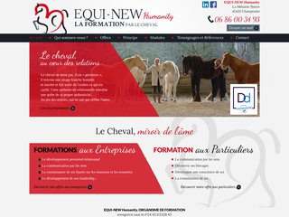 EQUI-NEW Humanity – Coaching de soi par le cheval
