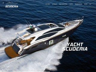 Yacht de luxe location - Yacht Scuderia