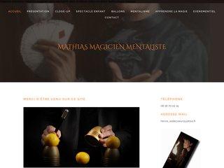 mathias magicien