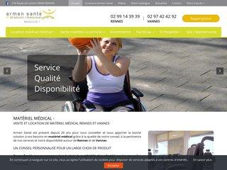 Achat de matériels pour handicapés à Vannes