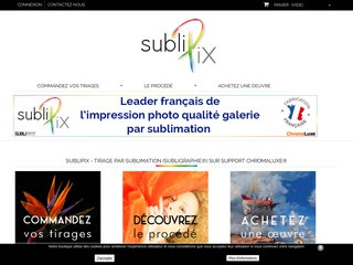 Sublipix - Impression par sublimation thermique